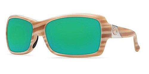 Costa Del Mar Sunglasses - Islamorada- Glass / Frame: Morena Lens: Polarized Green Mirror Wave 400 Glass ()
