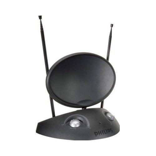 Philips SDV2730/27 HDTV/UHF/VHF/FM Digital Indoor TV Antenna