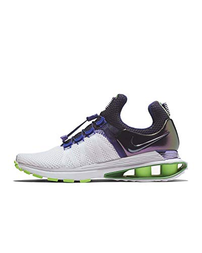 best authentic 16739 d83ef Nike Women s Shox Gravity Running Shoes-White Fusion Violet