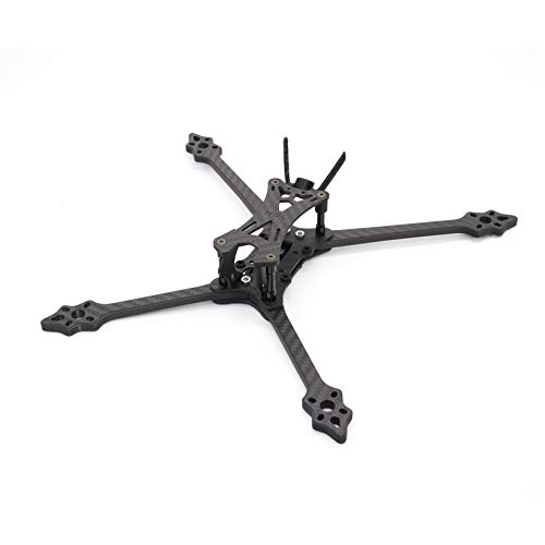 HGLRC Wind6 6 Inch Hybrid Frame Kit Arm 6mm for 6'' Propellers FPV Racing Drone by Wikiwand (Image #5)