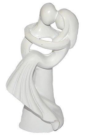 Unbekannt 3 D Figur Hochzeitspaar Modern 10 Cm Tischdeko Zur