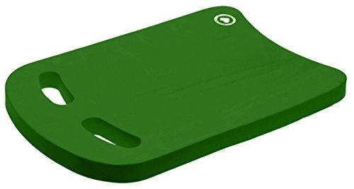 VIAHART Adult Swimming Kickboard (Green, Pack of 1) (Best Swim Stroke For Exercise)