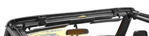 Bestop-55014-01-Black-Windshield-Channel-for-TJ-Factory-Style