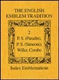 The English Emblem Tradition, , 0802029221