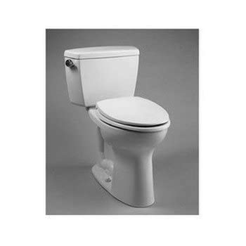 TOTO CST744EL01 Drake 2 Piece Eco Ada Toilet With Elongated Bowl Cotton