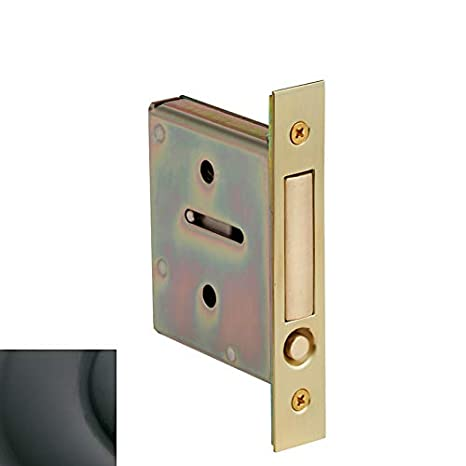 Amazon.com: Baldwin 8601 bolsillo puerta Passage mortise ...