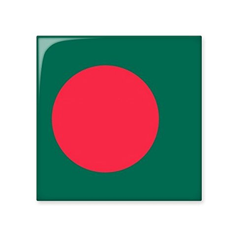 Bangladesh National Flag Asia Country Symbol Mark Pattern Ceramic Bisque Tiles for Decorating Bathroom Decor Kitchen Ceramic Tiles Wall Tiles good