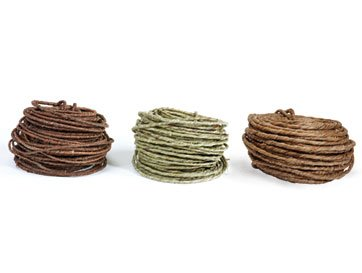 (SMITHERS Brown Rustic Wire 70' 18 Gauge )