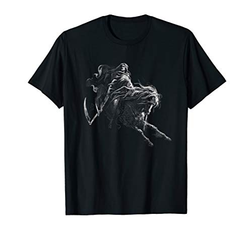 Dore T-shirt - Gustave Dore - Death on the Pale Horse 1865 Shirt