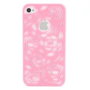 fashion case Hollow-Out Hard Case for iPhone 5s Pink