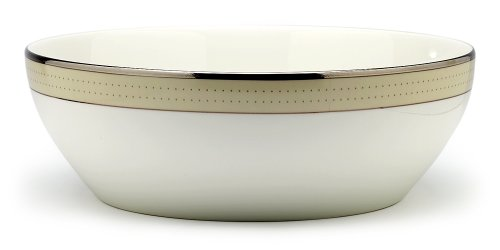 [Noritake Cameroon Sand Round Vegetable Bowl] (Cameroon Sand Accent)