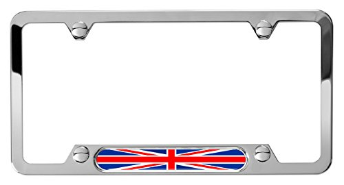 union jack license plate frame - 9