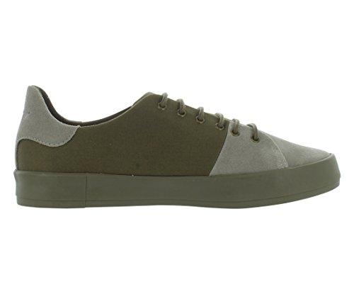 Creativo Ricreazione Mens Carda Moda Sneaker Militare Di Base Grigio