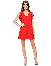 EVA by Womens Flouncy Sheath Dress