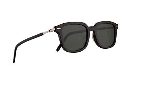 Christian Dior Homme DiorTechnicity1F Sunglasses Dark Havana w/Green Lens 51mm 086O7 Technicity 1F Technicity1F