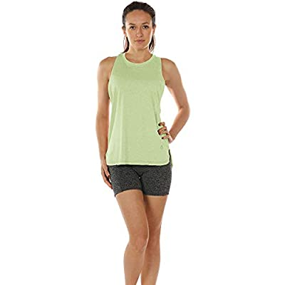 icyzone Workout Tank Tops for Women - Running Muscle Tank Sport Exercise Gym Yoga Tops Running Muscle Tanks(Pack of 3) at Women's Clothing store