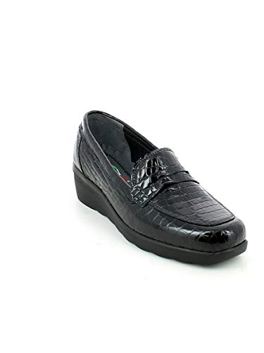Mujer Negro Florance Negro Para Mocasines Florance Mocasines Mujer Para Para Mocasines Florance A4wdqE
