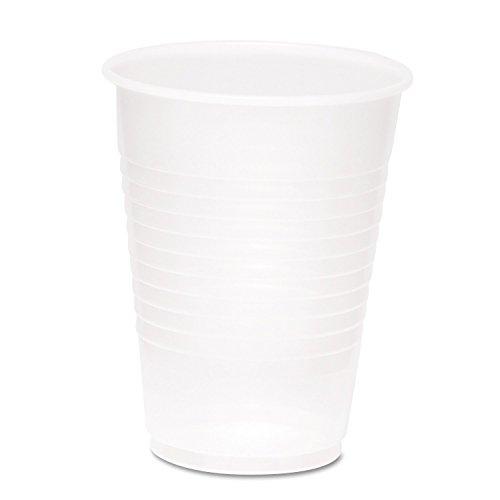Boardwalk 20CC Plastic PETE Cups, 20 oz, Clear (10 Packs of 50)