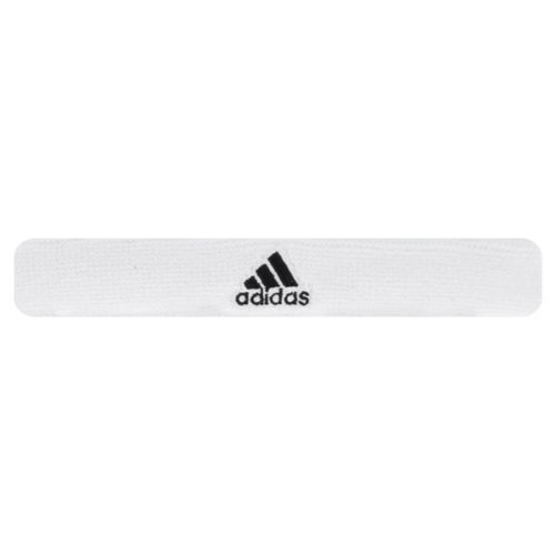 adidas Interval Slim Headband, White/Black, One Size Fits All