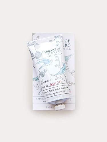Vanilla Flower Body Cream - Library of Flowers Handcreme-True Vanilla