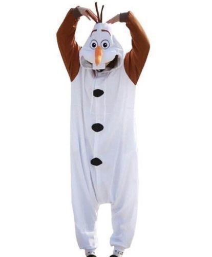Burlesque Box Olaf Frozen Pijama Onsie de Nieve, Disfraz de Mono para Disfraz Unisex,