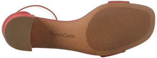 Platino Red Sarto para mujer Sandalia Rosalina Franco de Apple tacón de qxzq8wAaS