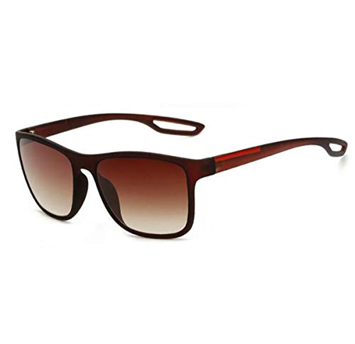 Mujer Sol Sol de de conducción Retro LK8084 Arena UV400 Hombre de Moda protección cuadradas para Sand de Negra Gafas de KOMNY Tea Gafas Gafas Eyewears Gafas wT6qFF