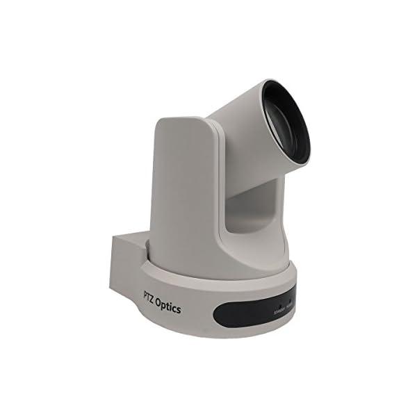 PTZOptics Live Streaming Cameras PTZ Cameras with SDI HDMI and IP Control PoE 12X SDI White