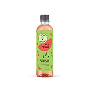JABnow Organic Cocktail Mixers Grapefruit Lime Cocktail Mixer Made with Organic Ingredients