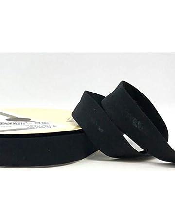 Mid Blue 17 18mm Higgs /& Higgs Stretch Plain Bias Binding Cotton Tape Trim Quilting