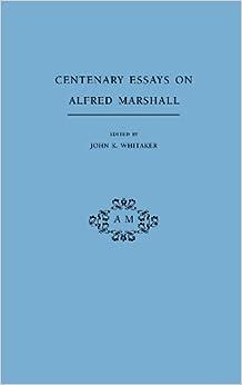 Marshall essays