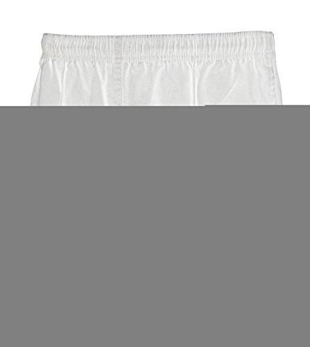 (Gilbert Men's Short Kiwi Pro 2XL White)