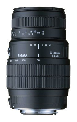 Price comparison product image Sigma 70-300mm f / 4-5.6 DG Macro Telephoto Zoom Lens for Canon SLR Cameras
