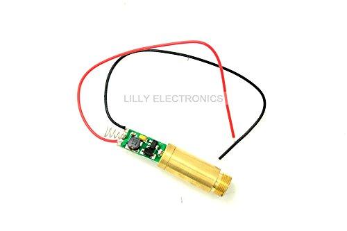 Industrial Lad APC 100mw 405nm Violet/Purple Laser DOT Module 3.7V-4.2V