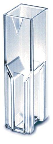 BrandTech 759165 Plastic 3ml UV-Transparent Disposable Semi-Micro UV-Cuvette, Bulk (Pack of 500)
