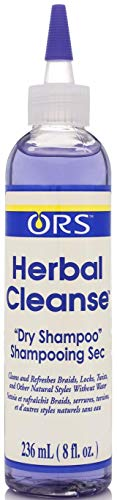 (ORS Herbal Cleanse Hair and Scalp Dry Shampoo, 8 oz (Pack of)