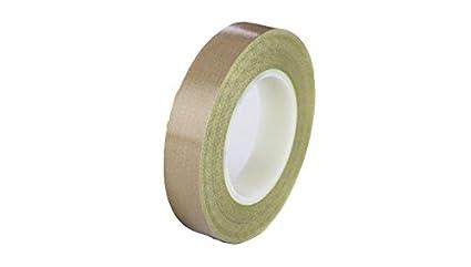 5.625 x 36 Yards Teflon 21-3S Teflon Coated Tape Silicone Adhesive