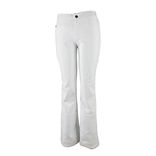 Obermeyer Women's Bond Pant II White 6S & E-Tip Gloves Bundle Bond Ski Pants
