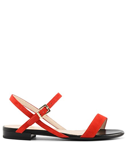 rot Rosso Kaiser Donna 41 Toe Peep Peter awTpxXp