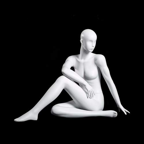 (MC-YOGA09) ROXYDISPLAY™ High end Quality. Female Yoga Position of Sitting, Full Body, Abstract Head, NO Base by ROXYDISPLAY™ (Image #3)