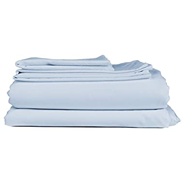 King Size Sheet Set - 6 Piece Set - Hotel Luxury Bed Sheets - Extra Soft - Deep Pockets - Easy Fit - Breathable & Cooling Sheets - Comphy - Light Blue Bed Sheets - Baby Blue - Kings Sheets - 6 PC
