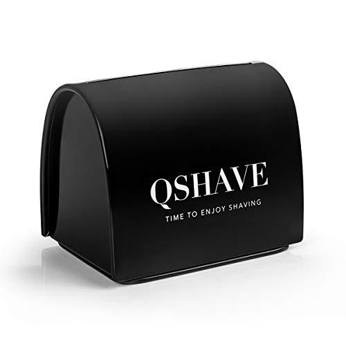 QSHAVE Blade Disposal Case Safe Storage Bank for Used Safety Razor Blades (Blades Razor Disposal)