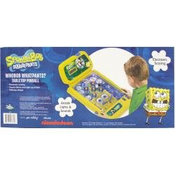 Nickelodeon Sponge Bob Square Pants Tabletop Pinball Machine, Plastic (8775)