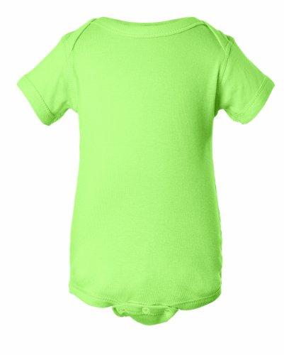 Unisex Infant Onesie-Light Green-New Born
