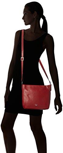GERRY WEBER Andalucia V, M 4080003615 Damen Schultertaschen 26x25x10 cm (B x H x T) Rot (Dark Red 302)