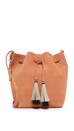Drawstring RANDALL Horse Nude Desert Python LOEFFLER Hobo Tassels Leather Natural Embossed Hair Black 4Cx5wqwd