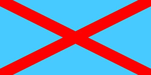 magFlags Large Flag Irish Blueshirts | Landscape Flag | 1.35m² | 14.5sqft | 80x160cm | 30x60inch - 100% Made in Germany - Long Lasting Outdoor Flag ()