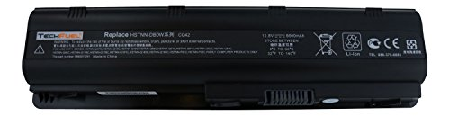1100 Series Laptop (HP Pavilion G6 Series, G7-1070us, dm4t-1100 CTO Laptop Replacement Battery - New TechFuel Professional 9-cell, Li-ion)