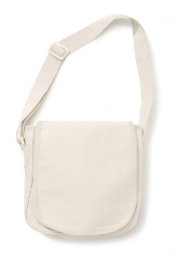 Darice 1146 70 Canvas Messenger Natural