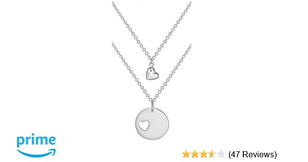 amazon com penny piper mother daughter necklaces 2 sterling